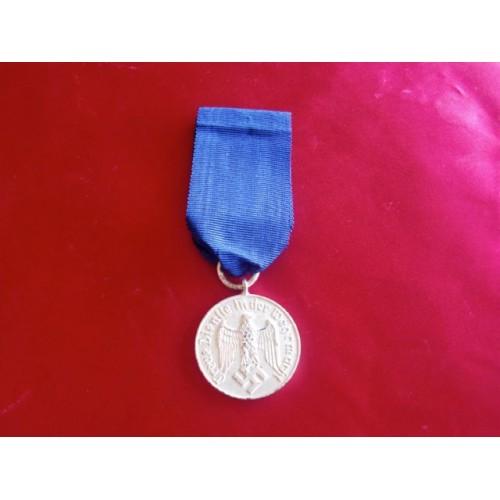 Heer 4 Year Service Medal # 2699