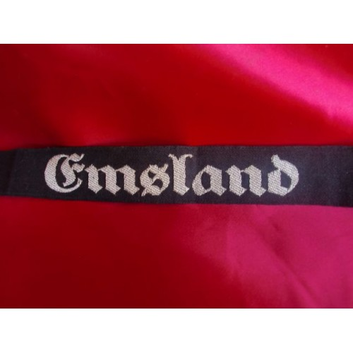 RAD Officer's EMSLAND District Cufftitle # 2718