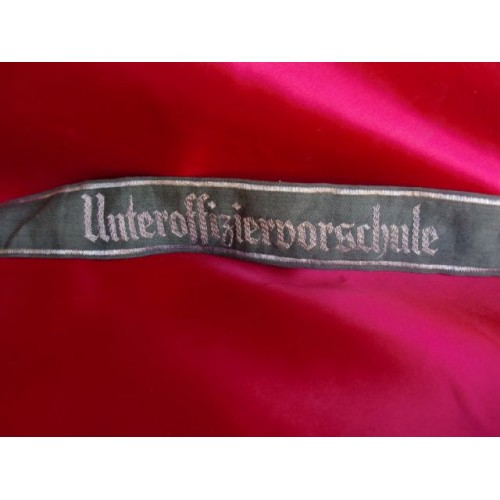 Heer Unteroffiziervorschule Cufftitle # 2720