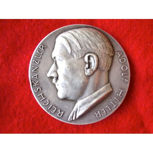 Hitler Medallion  # 2731