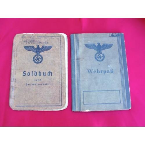 Wehrpass & Soldbuch # 2734