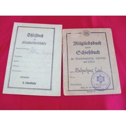 Shooting Club Membership Booklets # 2735