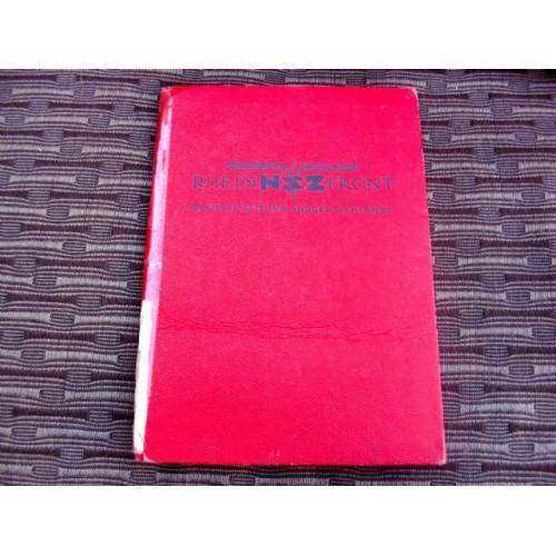 Rhein Front Dues Book # 2740