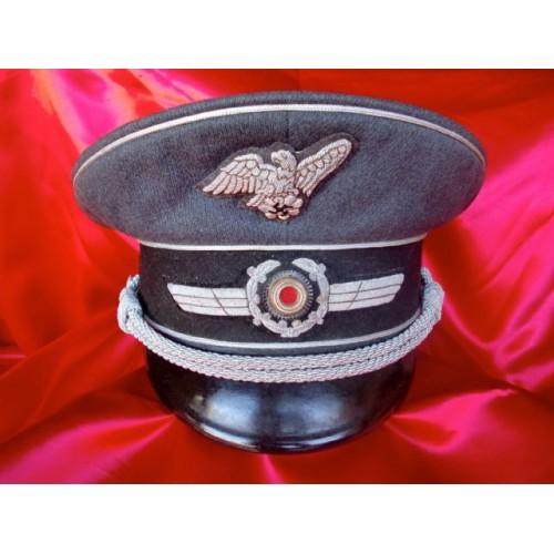 RLB Officers Visor # 2763