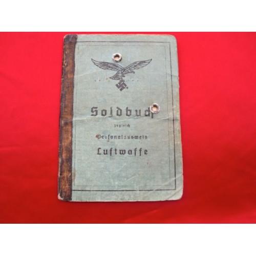 Luftwaffe Soldbuch # 2777