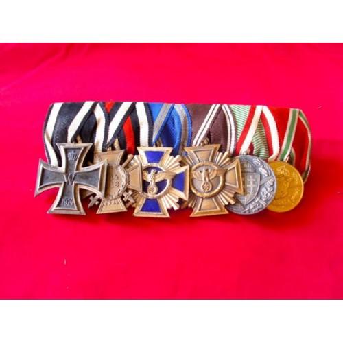 6 Medal Bar # 2807