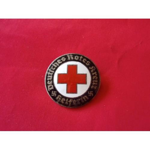 Deutsches Rotes Kreuz Helferin Badge # 2813