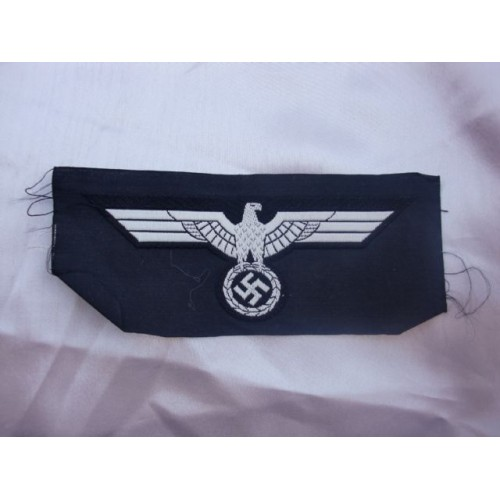 Panzer Breast Eagle, White # 2832