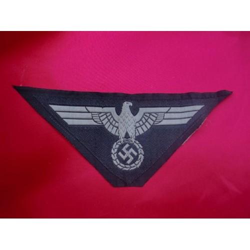 Panzer Breast Eagle, Gray # 2833