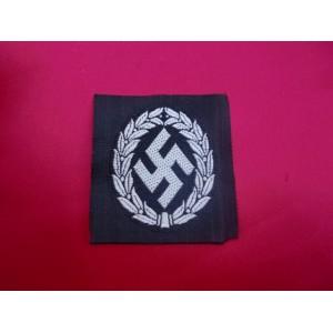 Schuma Officer's Cap Insignia # 2846