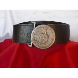 SS Officer's Belt With Buckle # 2855