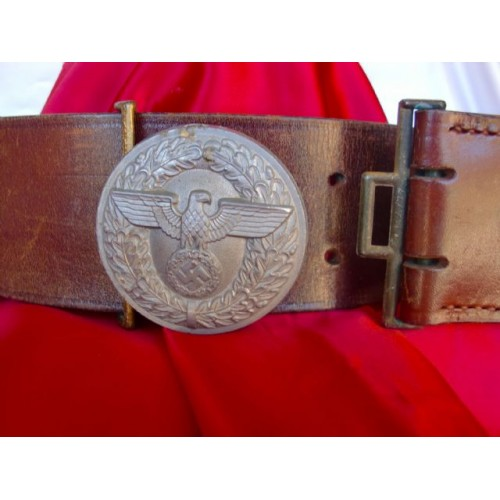 Political Leader's Belt and Buckle # 2856