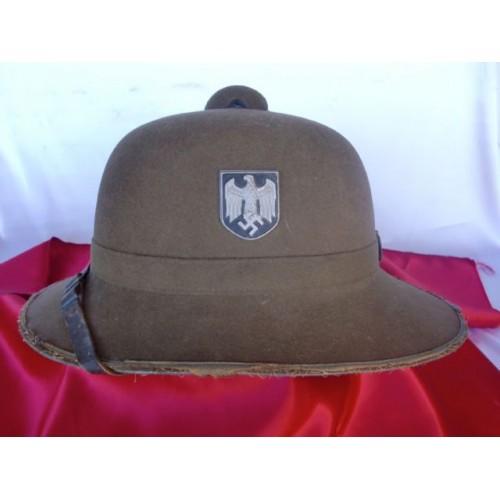 Heer Pith Helmet  # 2860