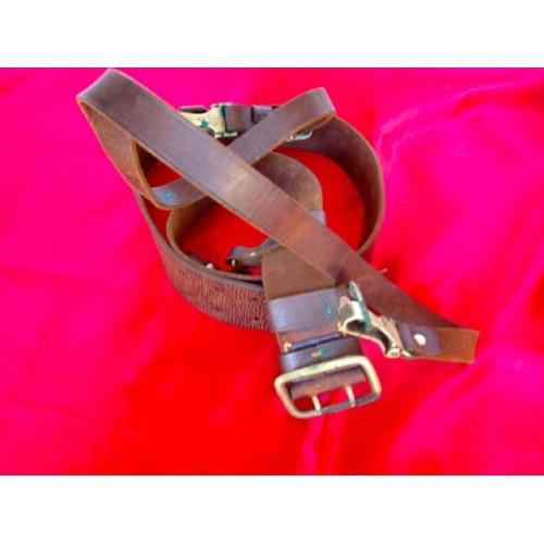 SA Buckle, Belt, Cross Strap # 2868