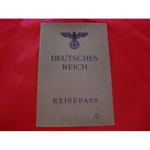 Deutsches Reich Reisepass # 2885