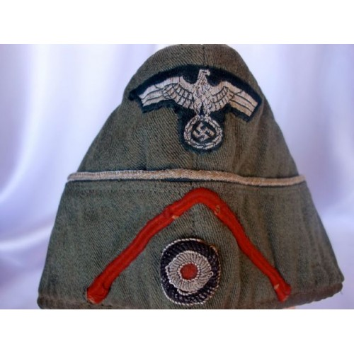 Artillery Officer's Overseas Cap # 2889