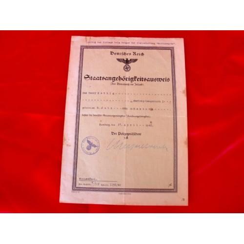 Racial Purity Document # 2908