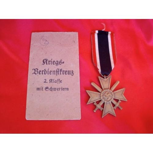 War Merit Cross 2nd Class # 2926