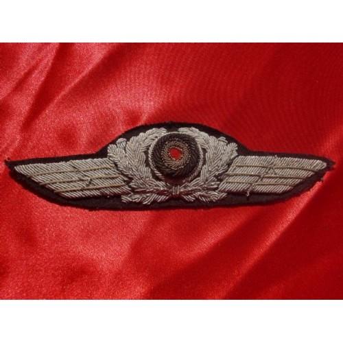 Luftwaffe Officer's Cap Wreath # 2956