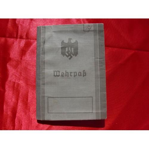 Wehrpass Booklet  # 2957