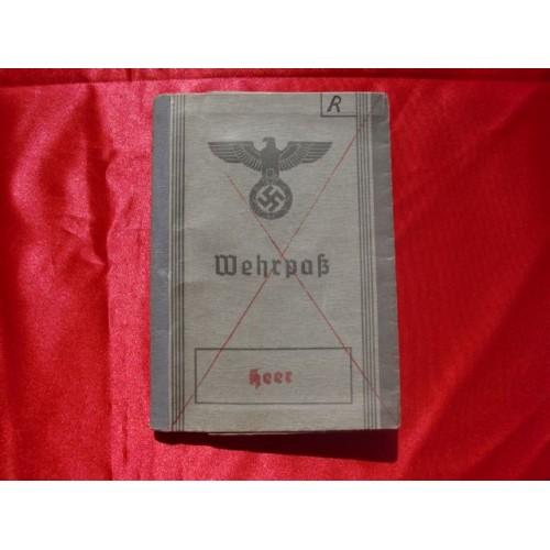 Wehrpass Booklet  # 2960