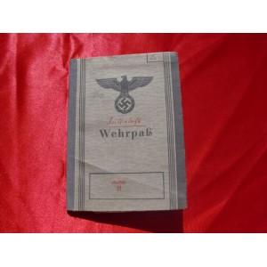 SS Wehrpass # 2961