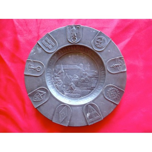 Nuremberg Party Plate  # 2966