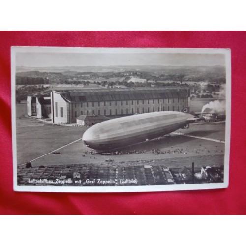 Graf Zeppelin Postcard # 2971