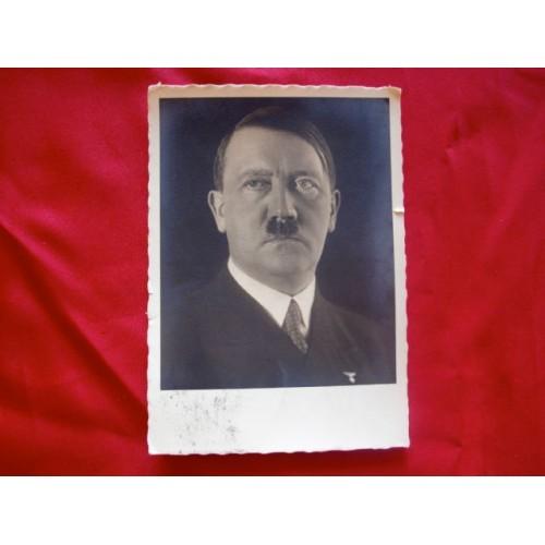 Adolf Hitler Postcard # 2973