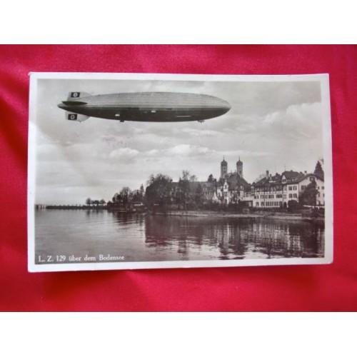 Hindenburg Postcard # 2974