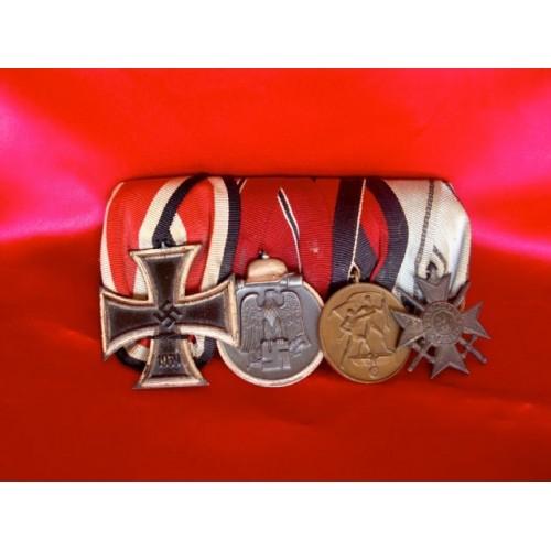 4 Medal Bar # 2992