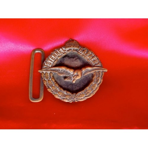 WWI Hungarian Pilots Buckle # 2994