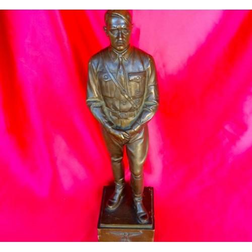 Adolf Hitler Bronze Statue # 3029