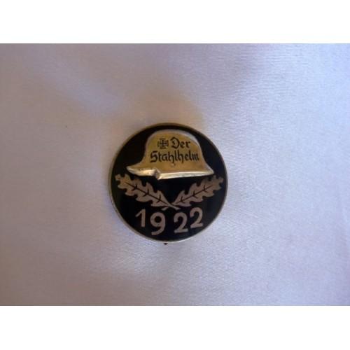 Der Stahlhelm 1922 Medal # 3038