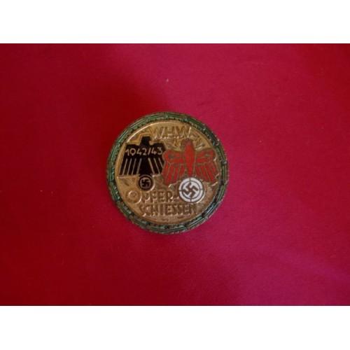WHW Opfer-Schiessen Medal # 3046