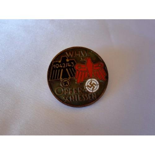WHW Opfer-Schiessen Medal  # 3047
