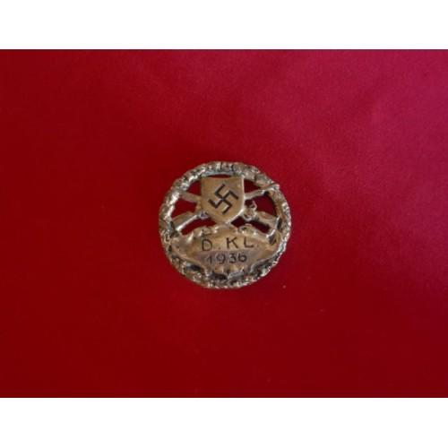 DKL 1936 Shooting Award # 3050
