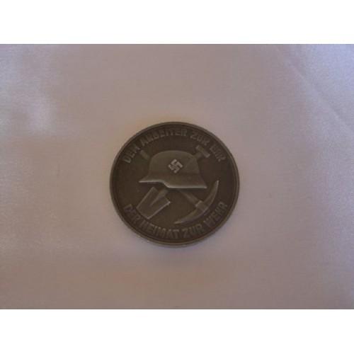 Philipp Holzmann Medallion # 3052