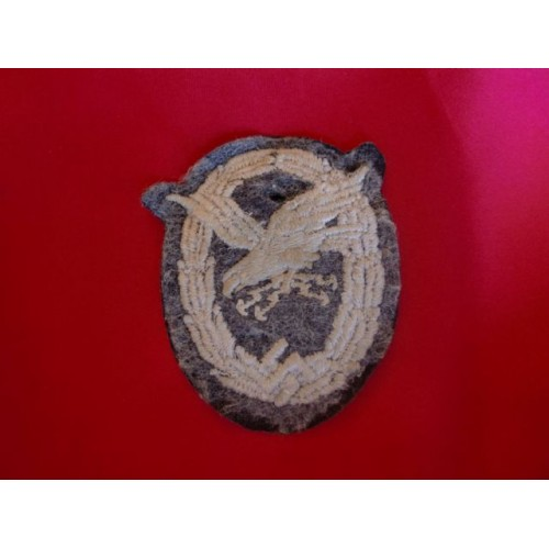 Luftwaffe Cloth Gunner/Wireless Patch  # 3060