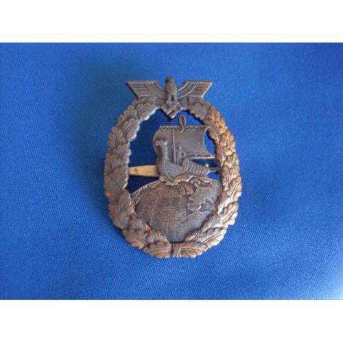 Auxiliary Cruiser War Badge  # 3069