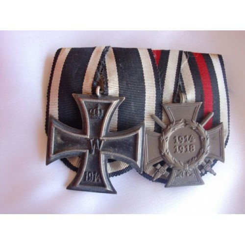 2 Medal Ribbon Bar # 3072