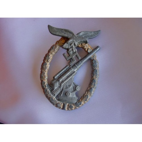 Luftwaffe Flak Badge # 3074