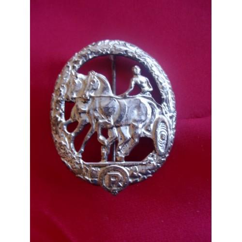 Deutsches ReiterAbzeichen in Silver # 3080