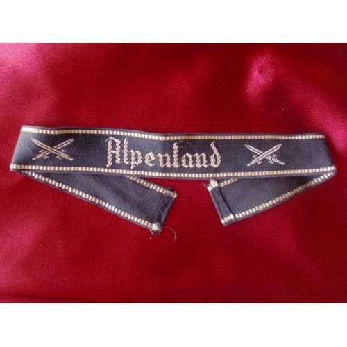 Alpenland Cuff Title # 3087