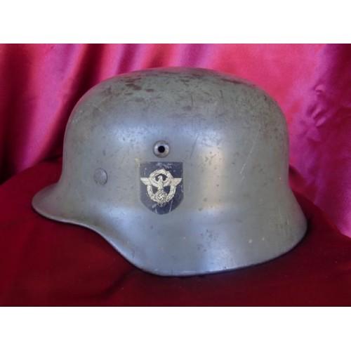 M35 Police Helmet # 3118