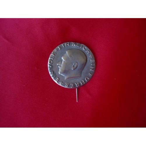 Hitler Pin  # 3129
