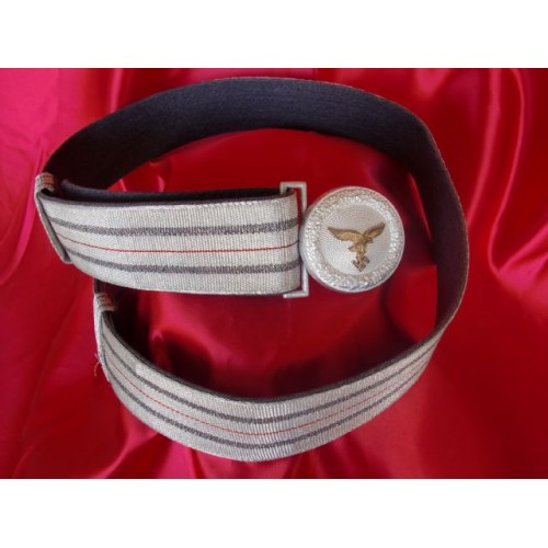 Luftwaffe Brocade Belt & Buckle # 3143