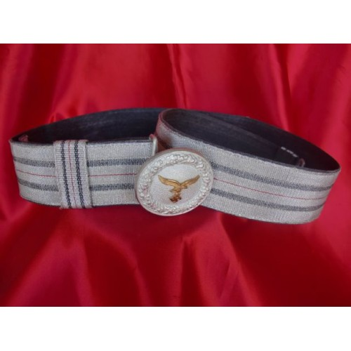 Luftwaffe Brocade Belt & Buckle  # 3144