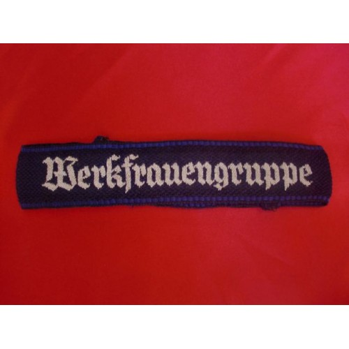 NSV/DAF Werkfrauengruppe Cufftitle # 3180