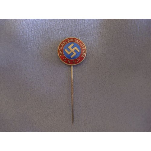 Swedish S.N.S.P. Stickpin # 3198